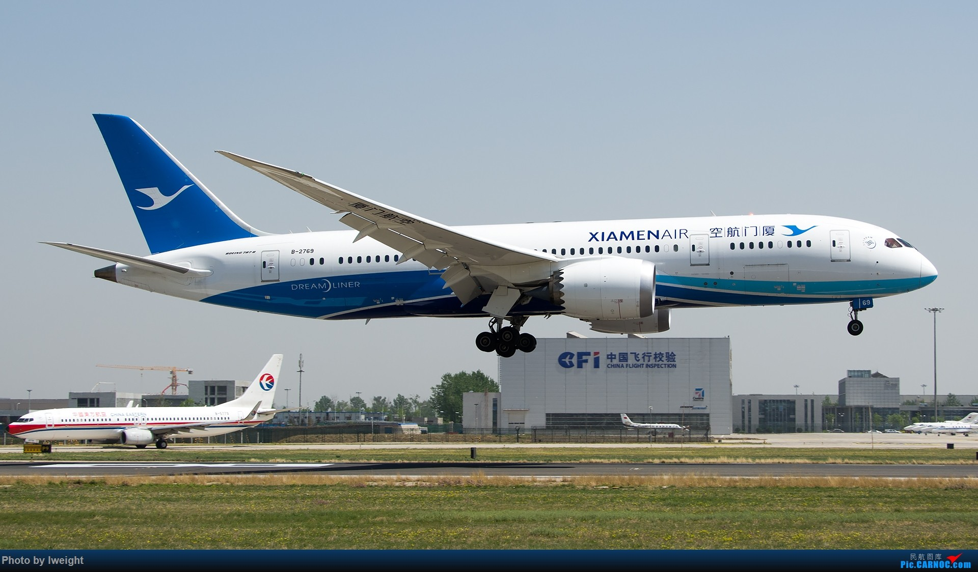 Re:[原创]2015年第一次在PEK拍北向南,其实是为Jimmy去的【2015-4-24】 BOEING 787-8 B-2769 中国北京首都国际机场