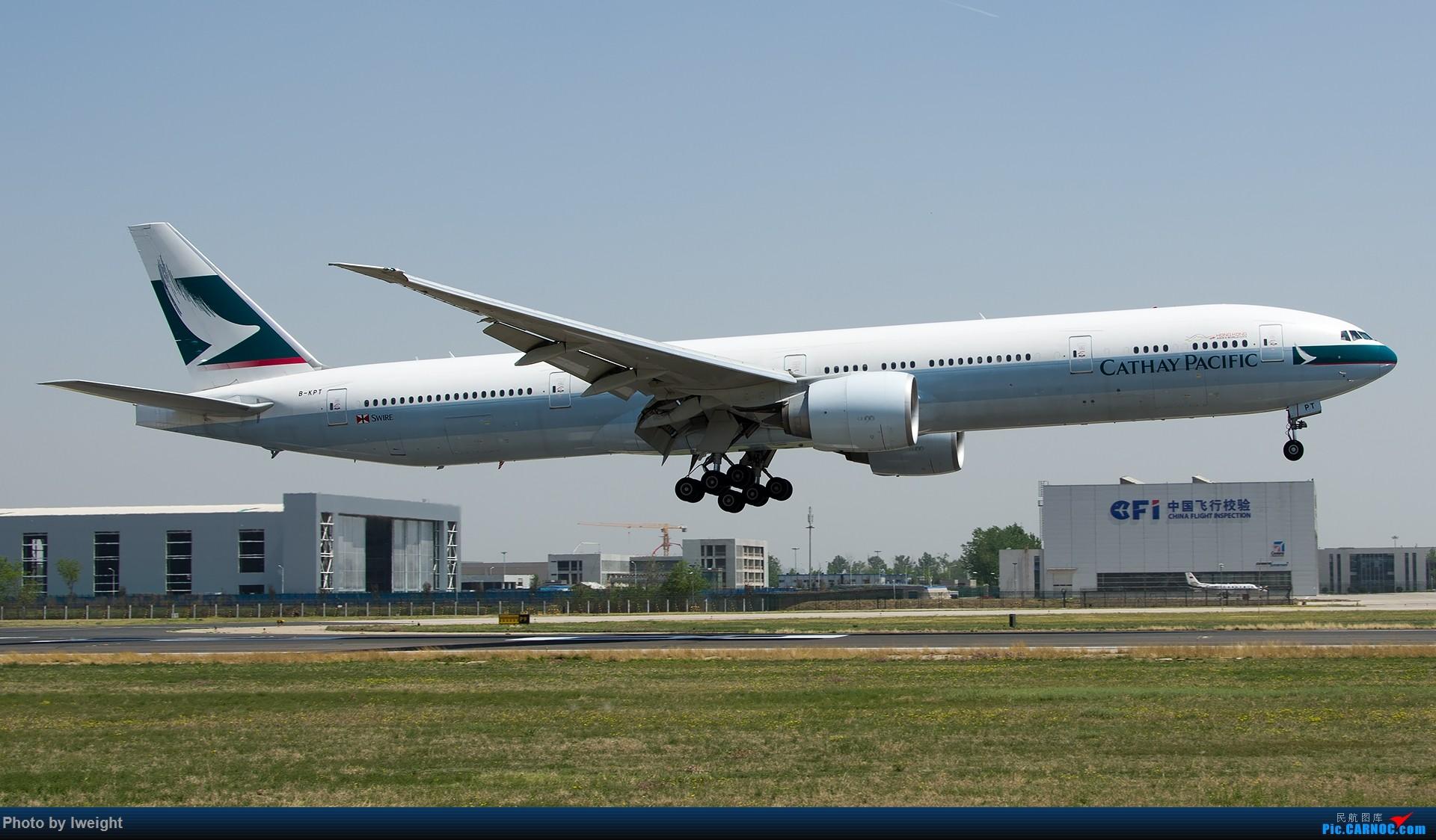 Re:[原创]2015年第一次在PEK拍北向南,其实是为Jimmy去的【2015-4-24】 BOEING 777-300ER B-KPT 中国北京首都国际机场