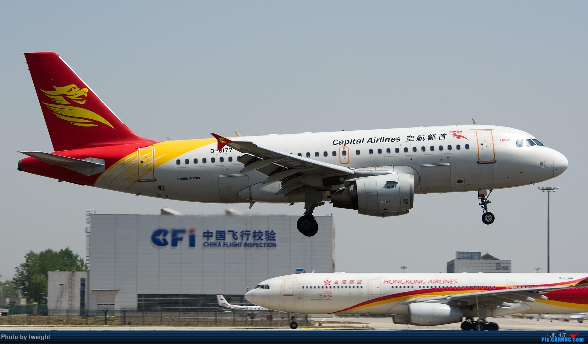Re:[原创]2015年第一次在PEK拍北向南,其实是为Jimmy去的【2015-4-24】 AIRBUS A319-100 B-6177 中国北京首都国际机场