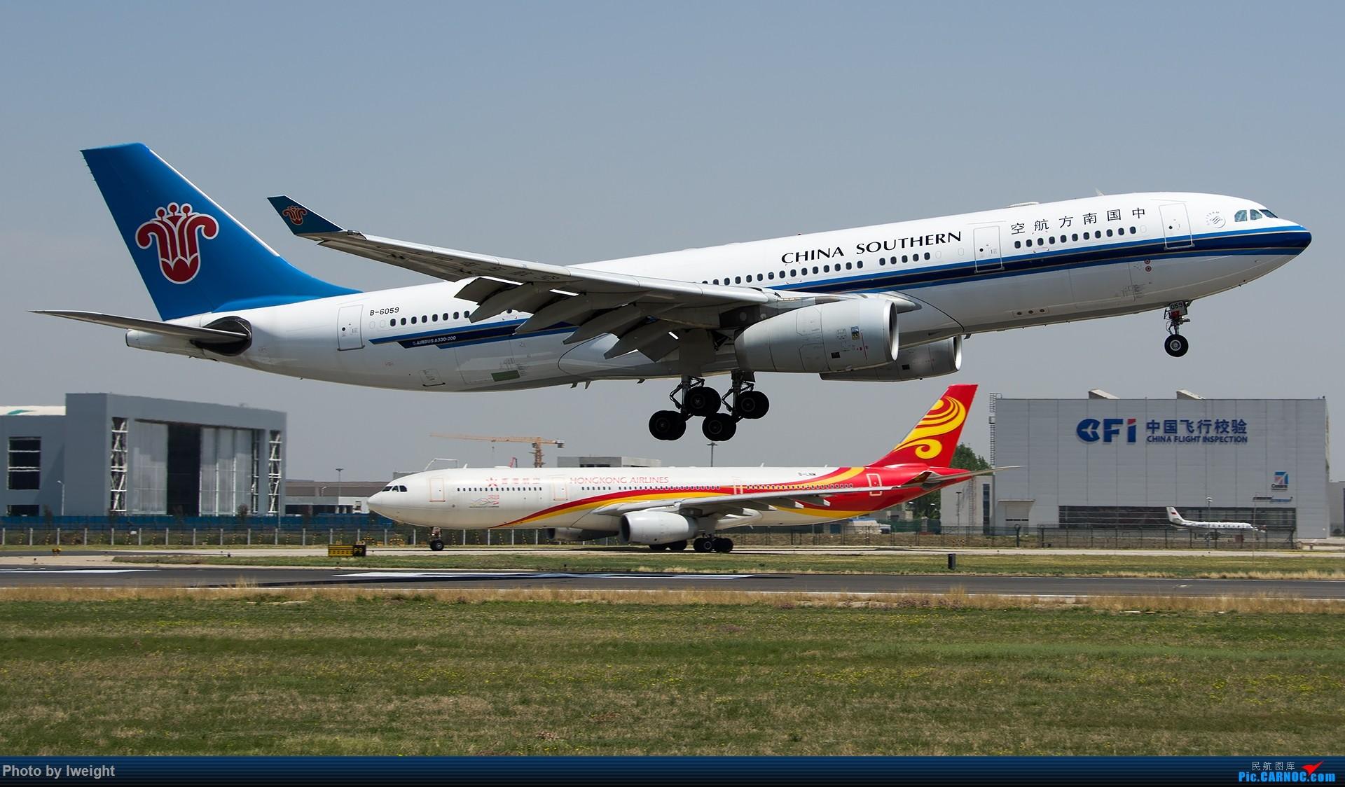 Re:[原创]2015年第一次在PEK拍北向南,其实是为Jimmy去的【2015-4-24】 AIRBUS A330-200 B-6059 中国北京首都国际机场