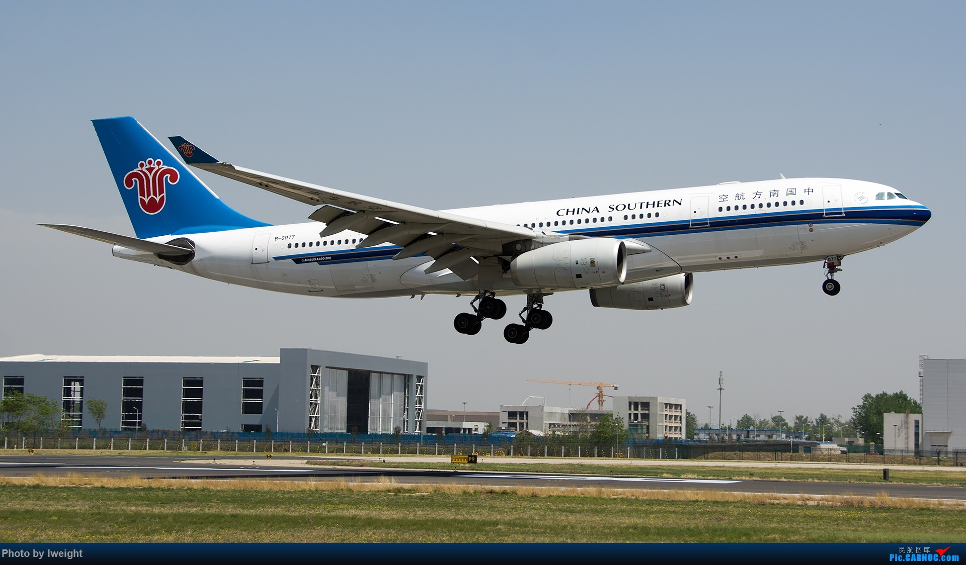 Re:[原创]2015年第一次在PEK拍北向南,其实是为Jimmy去的【2015-4-24】 AIRBUS A330-200 B-6077 中国北京首都国际机场