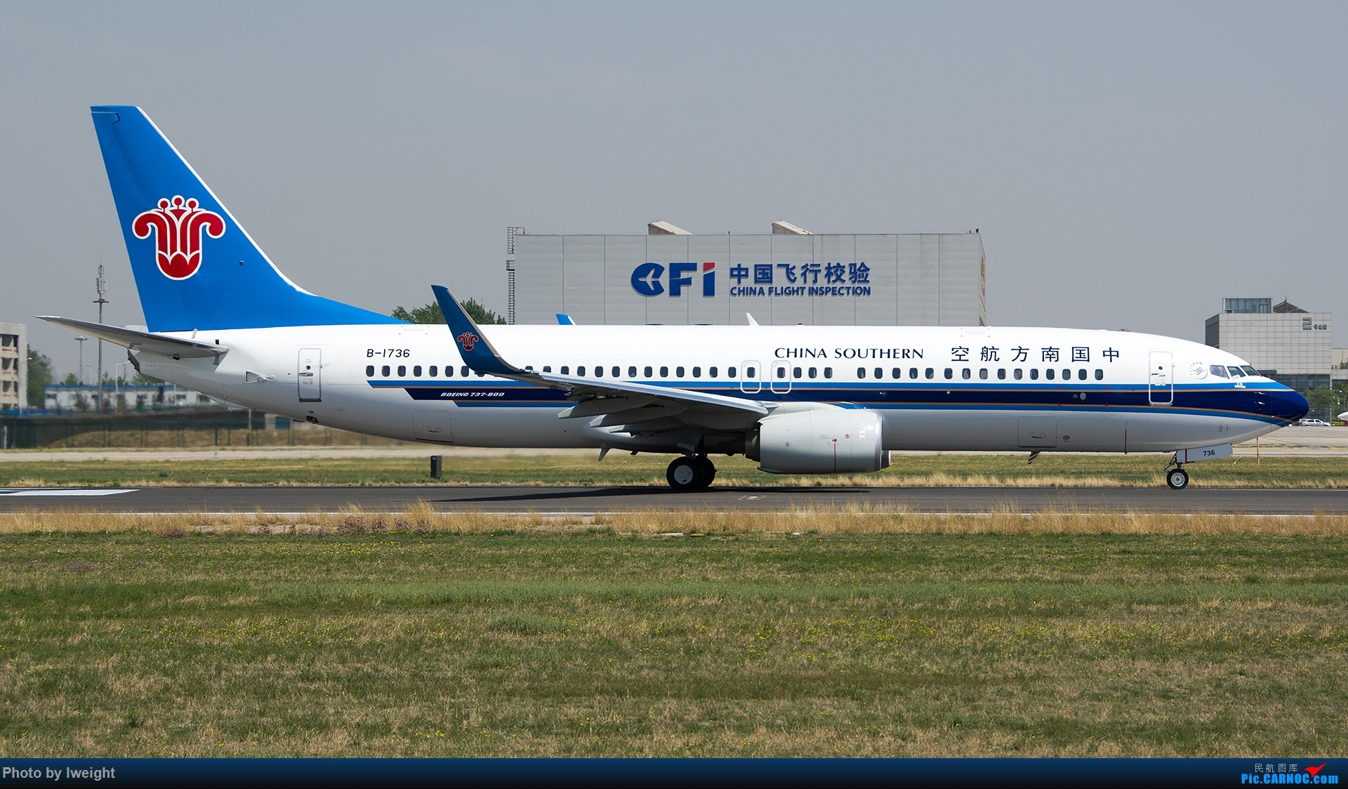 Re:[原创]2015年第一次在PEK拍北向南,其实是为Jimmy去的【2015-4-24】 BOEING 737-800 B-1736 中国北京首都国际机场
