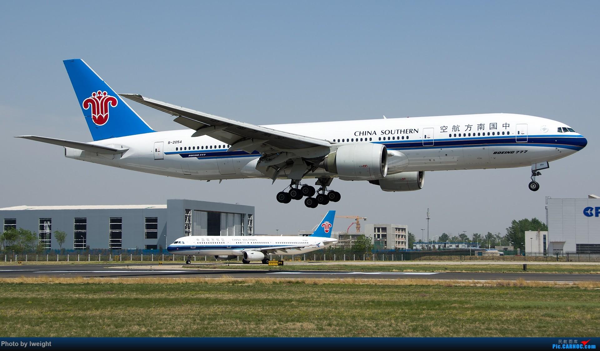 Re:[原创]2015年第一次在PEK拍北向南,其实是为Jimmy去的【2015-4-24】 BOEING 777-200 B-2054 中国北京首都国际机场
