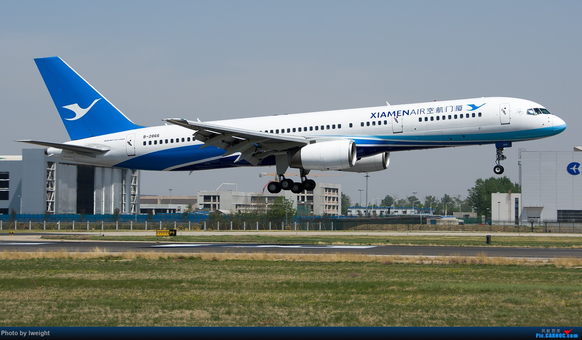 Re:[原创]2015年第一次在PEK拍北向南,其实是为Jimmy去的【2015-4-24】 BOEING 757-200 B-2866 中国北京首都国际机场