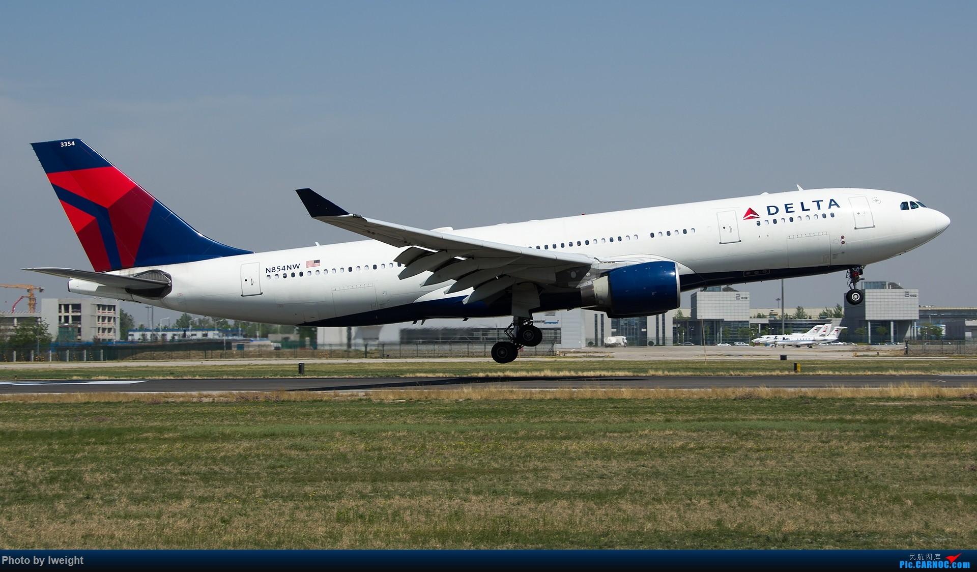 Re:[原创]2015年第一次在PEK拍北向南,其实是为Jimmy去的【2015-4-24】 AIRBUS A330-200 N854NW 中国北京首都国际机场