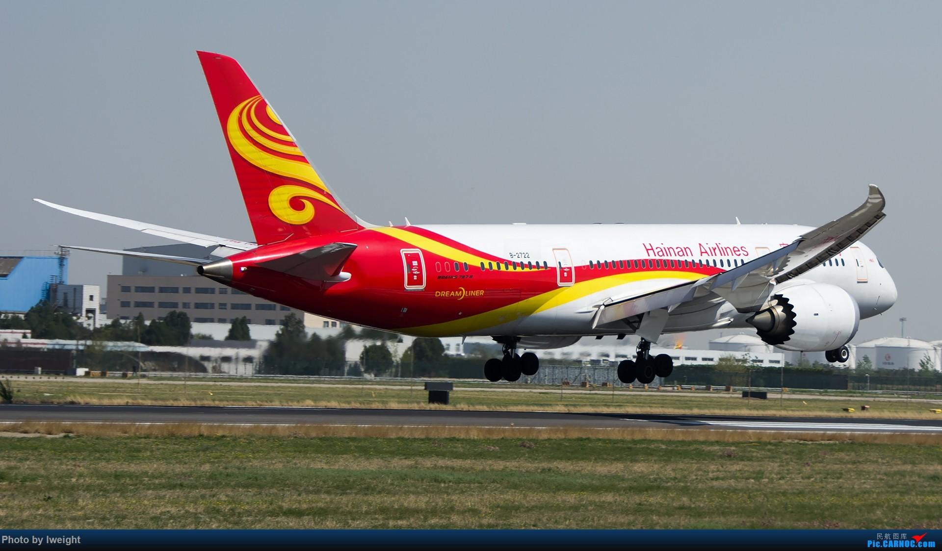Re:[原创]2015年第一次在PEK拍北向南,其实是为Jimmy去的【2015-4-24】 BOEING 787-8 B-2722 中国北京首都国际机场