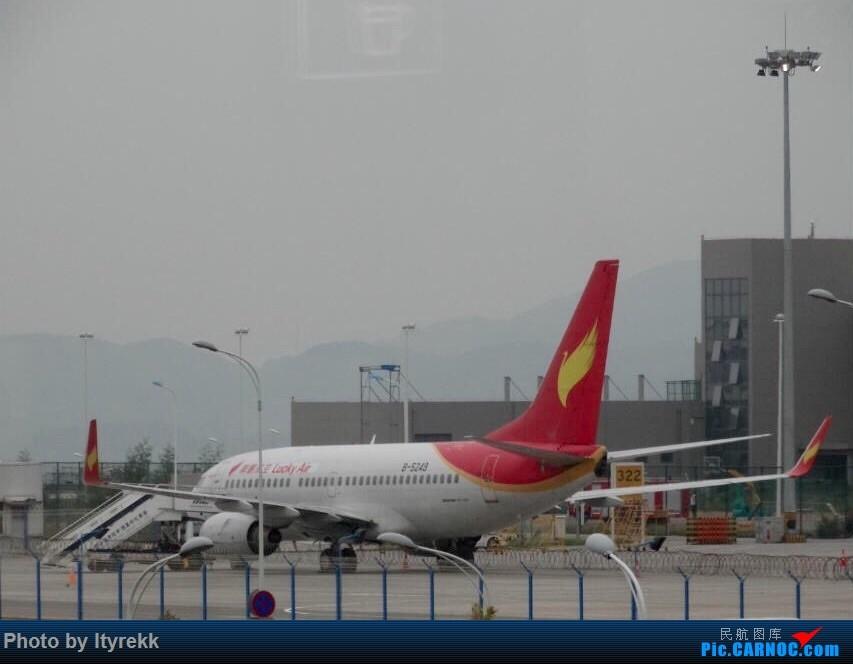 暑假存货,LUM-KMG-SHA/PVG-KMG-LUM BOEING 737-700 B-5249 中国昆明长水国际机场