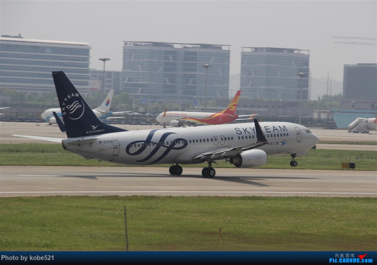 Re:[原创]冒个泡~~ BOEING 737-800 B-5159 中国杭州萧山国际机场
