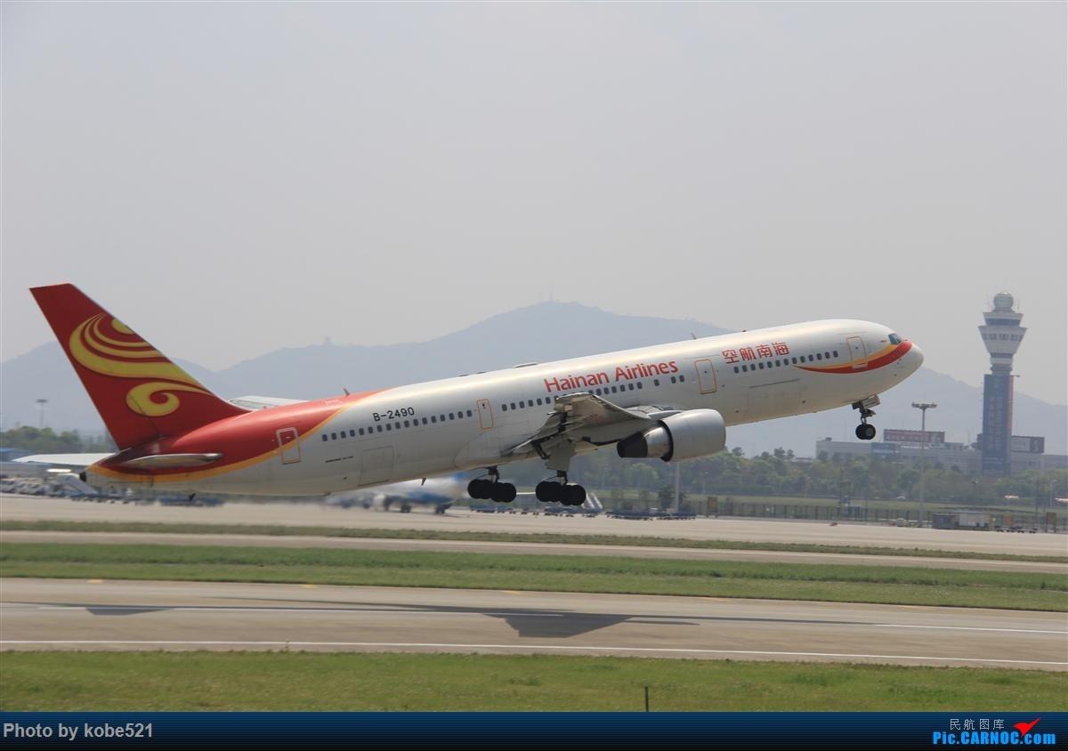 Re:[原创]冒个泡~~ BOEING 767-300 B-2490 中国杭州萧山国际机场