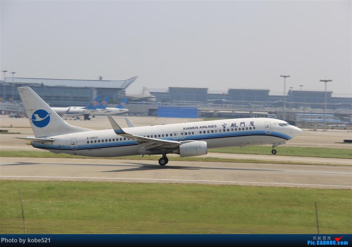 Re:[原创]冒个泡~~ BOEING 737-800 B-5603 中国杭州萧山国际机场