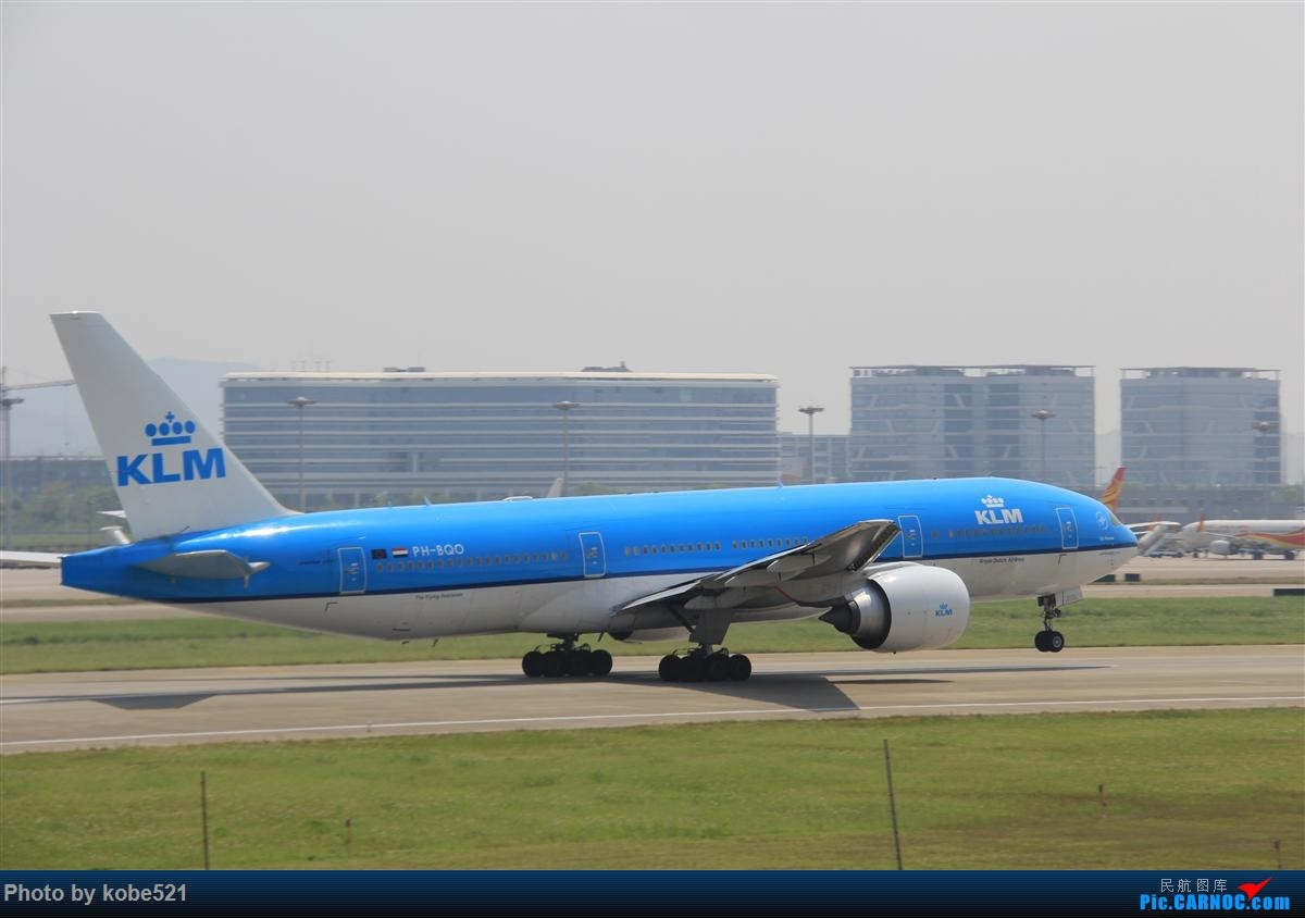 Re:[原创]冒个泡~~ B772 PH-BQO 中国杭州萧山国际机场