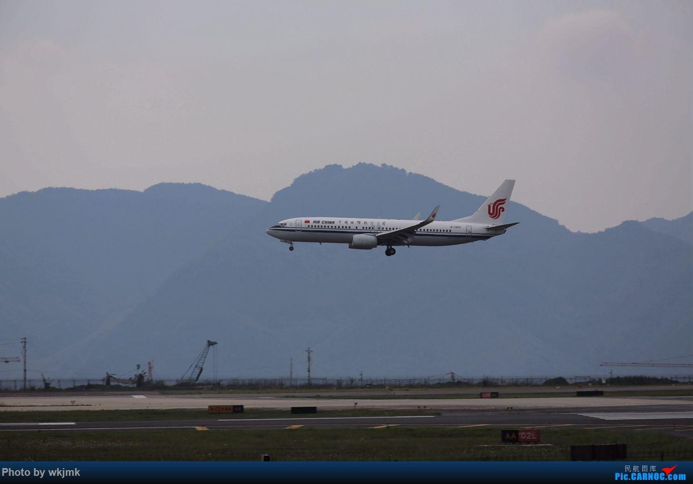 Re:[原创]CKG拍机 BOEING 737-800 B-1959 中国重庆江北国际机场