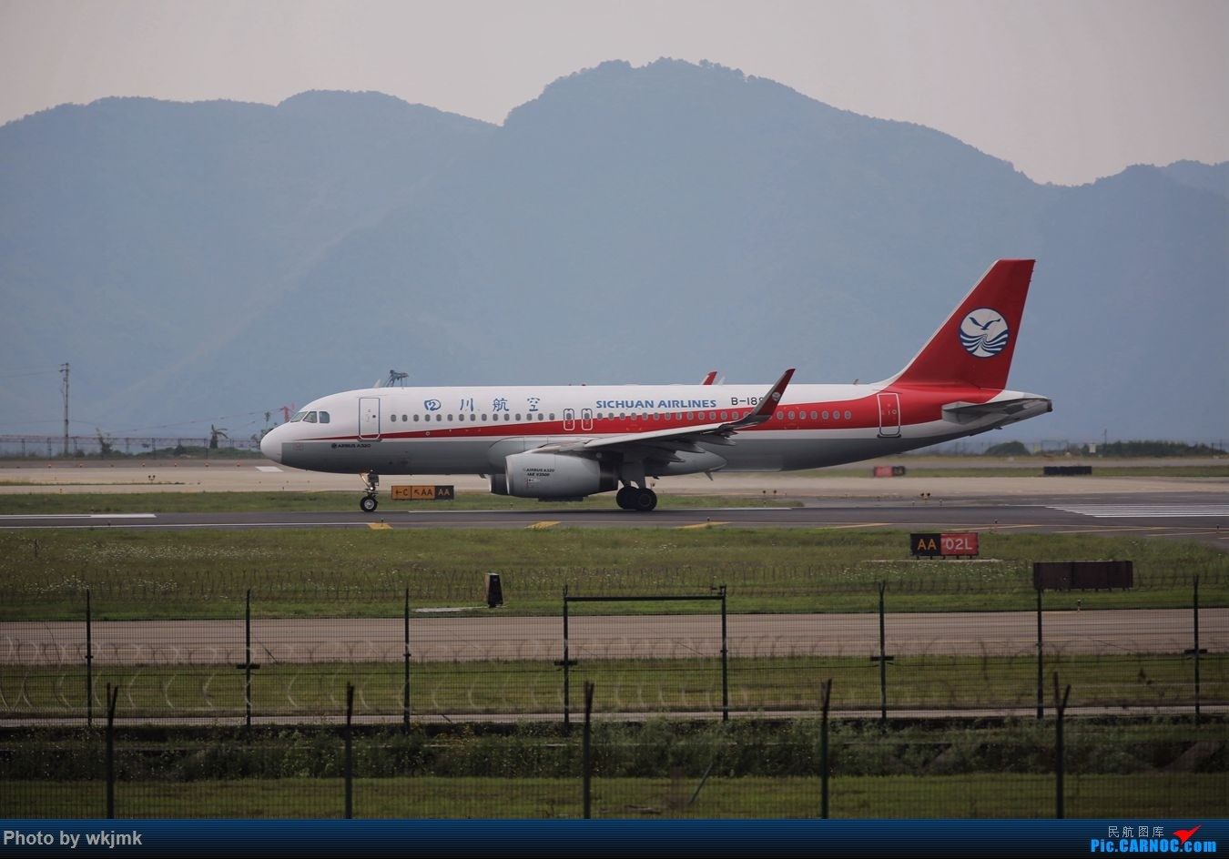 Re:[原创]CKG拍机 AIRBUS A320-200 B-1887 中国重庆江北国际机场