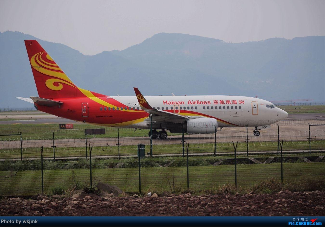 Re:[原创]CKG拍机 BOEING 737-700 B-5288 中国重庆江北国际机场