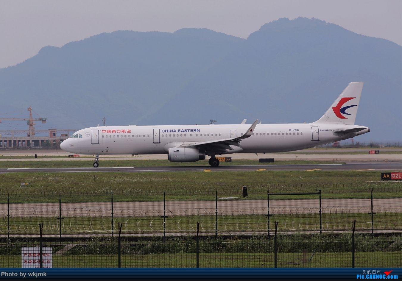 Re:[原创]CKG拍机 AIRBUS A321-200 B-1858 中国重庆江北国际机场