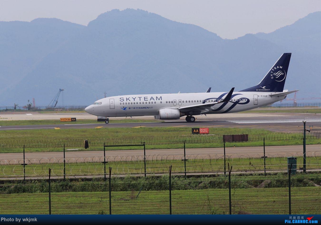 Re:[原创]CKG拍机 BOEING 737-800 B-5302 中国重庆江北国际机场