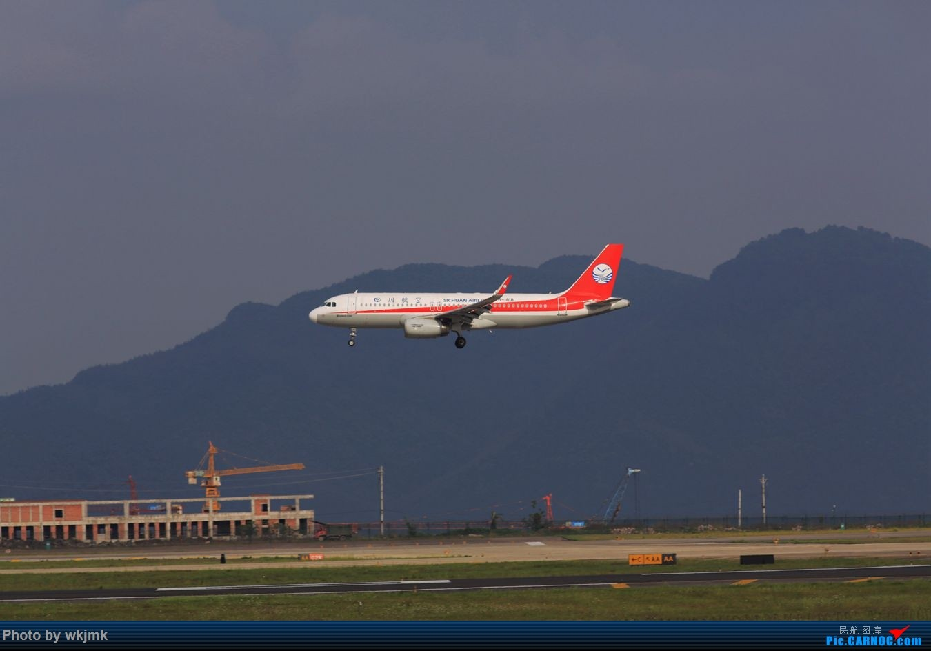 Re:[原创]CKG拍机 AIRBUS A320-200 B-1818 中国重庆江北国际机场
