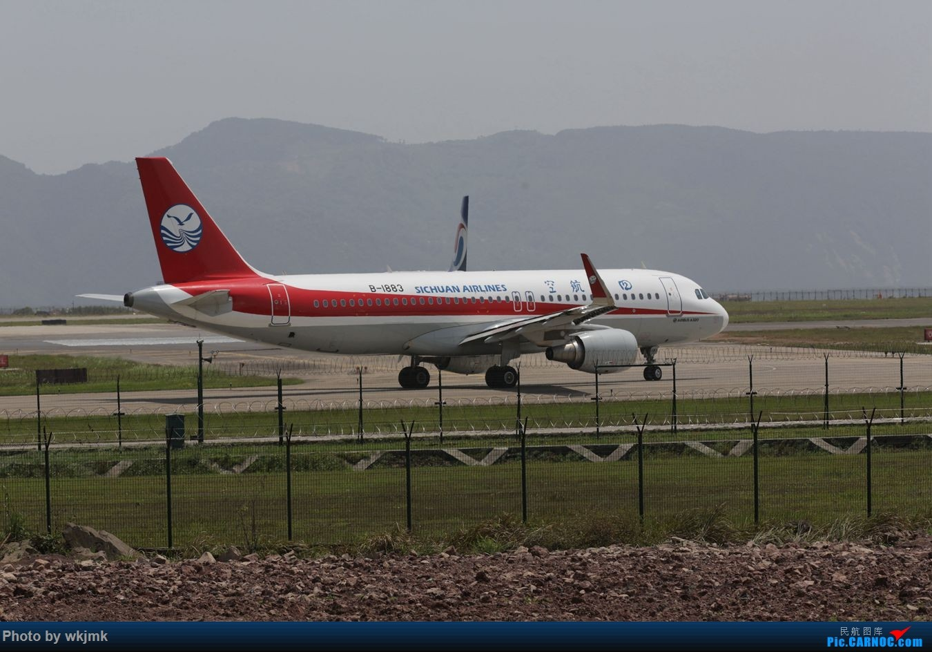 Re:[原创]CKG拍机 AIRBUS A320-200 B-1883 中国重庆江北国际机场