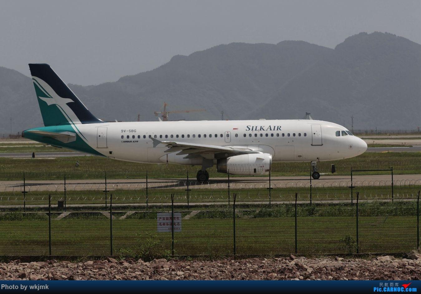 Re:[原创]CKG拍机 AIRBUS A319 9V-SBG 中国重庆江北国际机场