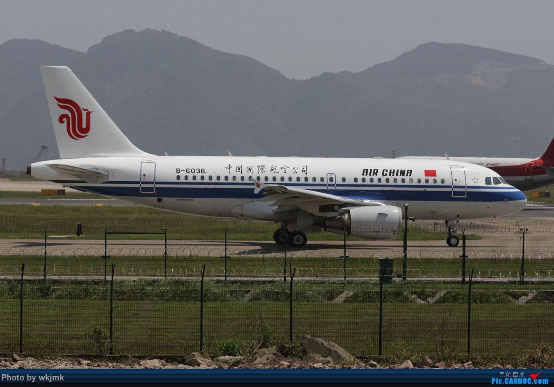 Re:[原创]CKG拍机 AIRBUS A319-100 B-6038 中国重庆江北国际机场