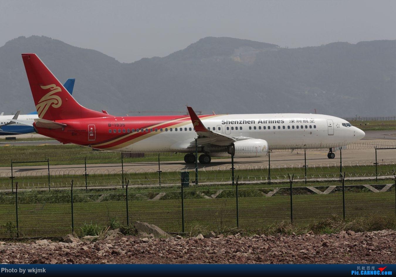 Re:[原创]CKG拍机 BOEING 737-800 B-1935 中国重庆江北国际机场