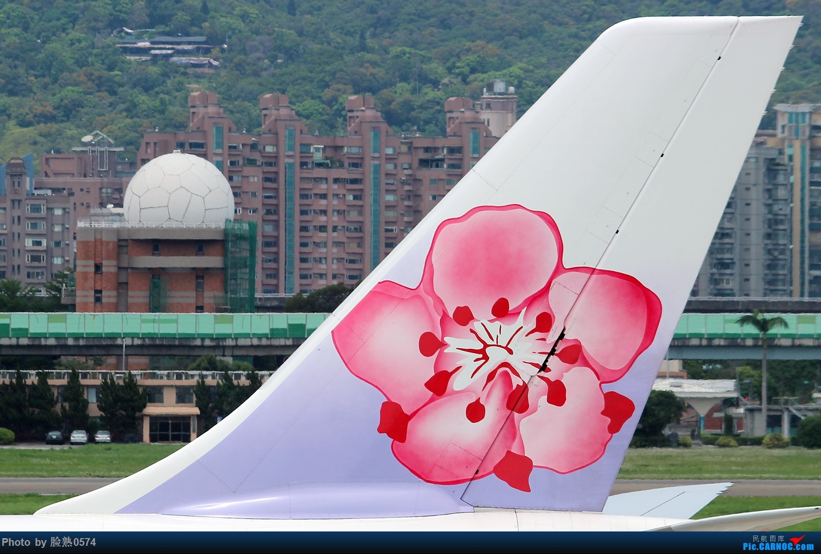 Re:[原创]初到台北松山机场观景台 AIRBUS A330-300 B-18352 中国台北松山国际机场
