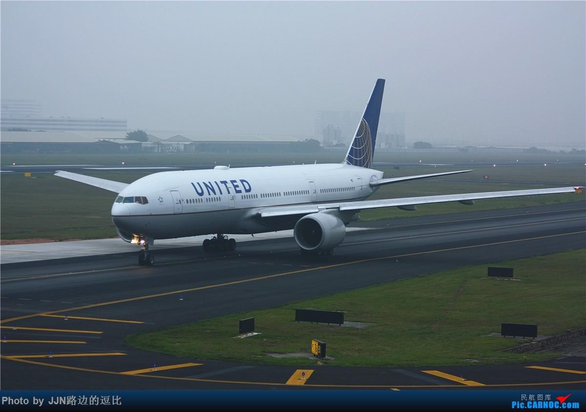 [原创]5.1厦门溜一趟,捞了不少好东西,天气有够烂!(小飞机小飞机) BOEING 777-200 N771UA 中国厦门高崎国际机场