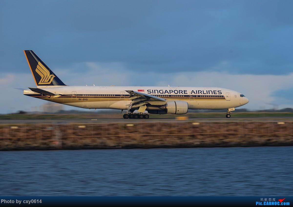 Re:[原创]【SYD】尼康70-300 用在D800上,希望前辈指导 BOEING 777-200 9V-SVG 澳大利亚悉尼金斯福德·史密斯机场
