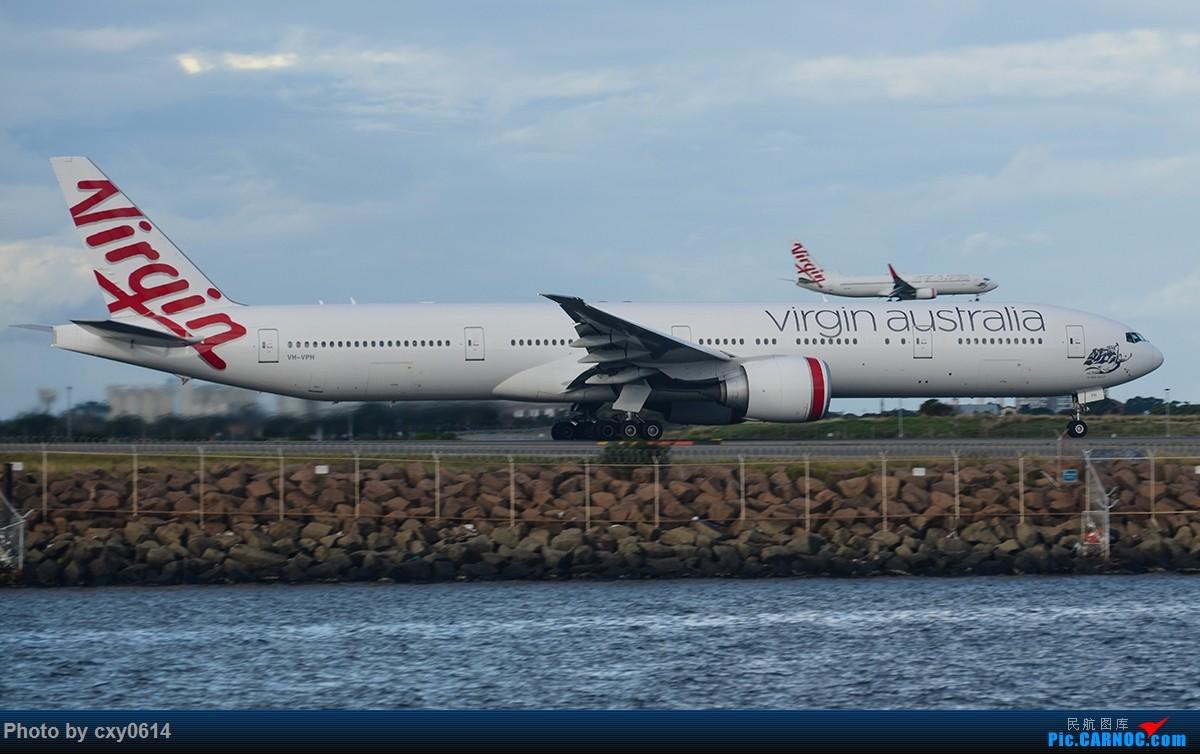 Re:[原创]【SYD】尼康70-300 用在D800上,希望前辈指导 BOEING 777-300ER VH-VPH 澳大利亚悉尼金斯福德·史密斯机场