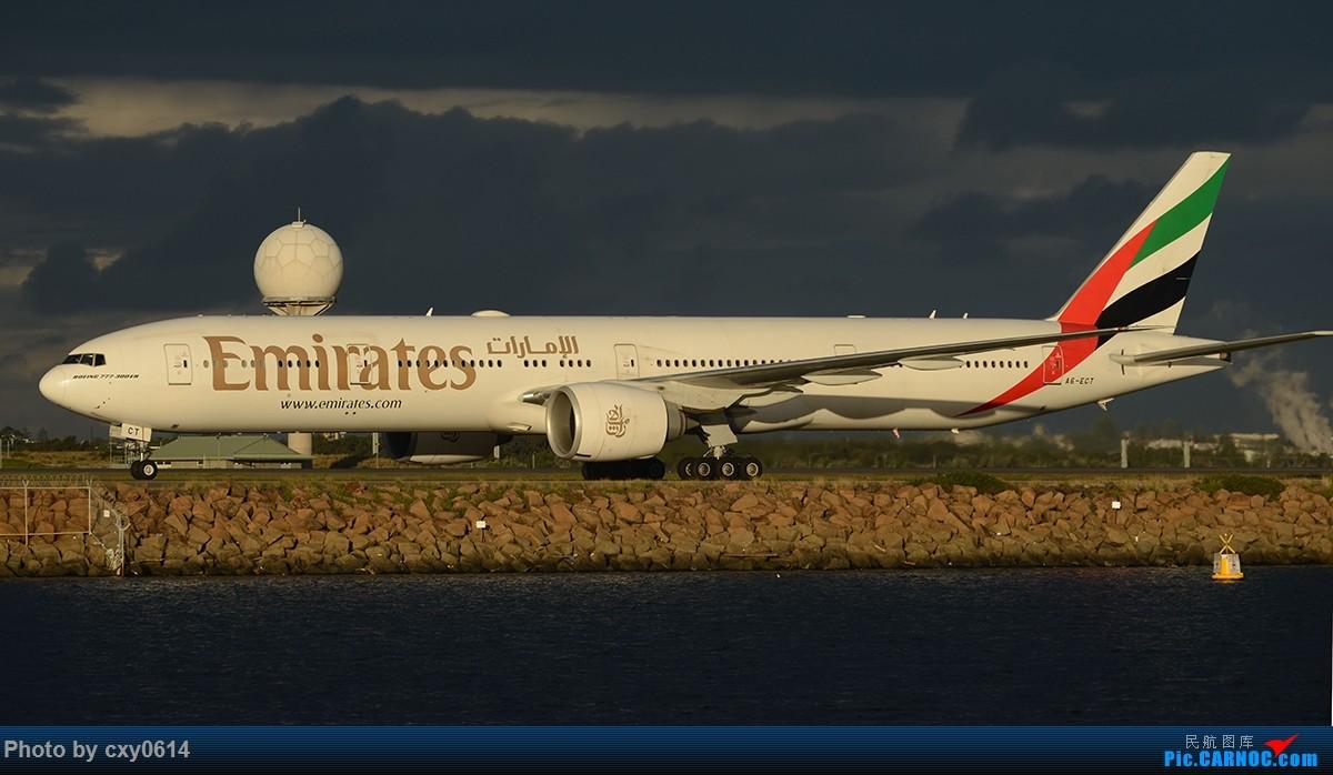 Re:[原创]【SYD】尼康70-300 用在D800上,希望前辈指导 BOEING 777-300ER A6-ECT 澳大利亚悉尼金斯福德·史密斯机场