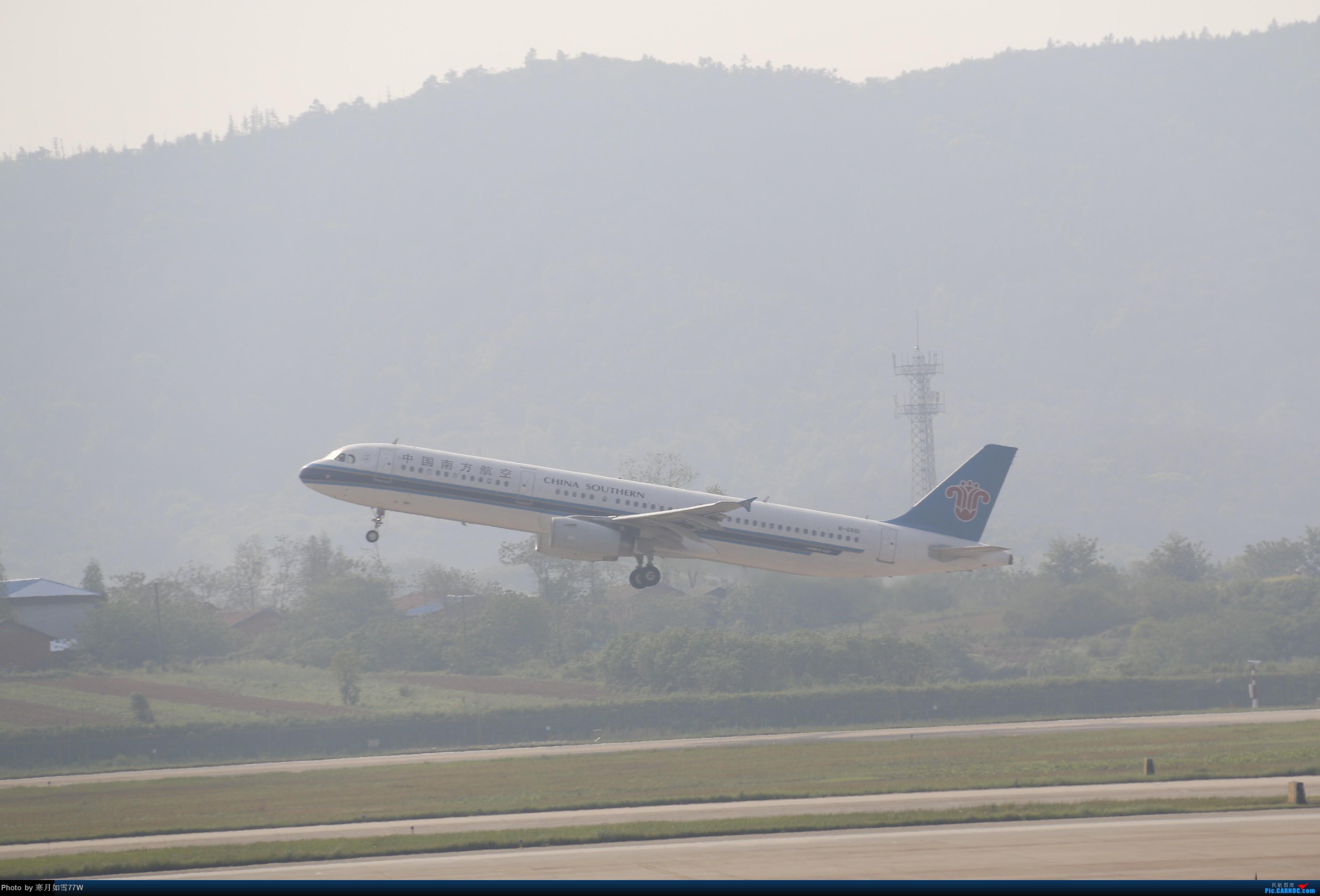 [原创][KHN]昌北拍机 南航321起飞一张 AIRBUS A321-200 B-6661 中国南昌昌北国际机场