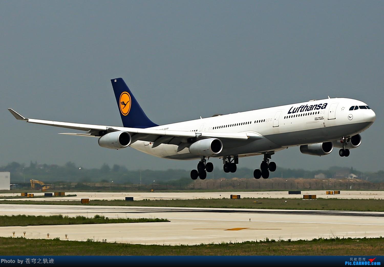 Re:[原创]华夏CR9 深航大运 棒航738外加鲁夫343 各种擦烟 AIRBUS A340-300 D-AIGS 中国南京禄口国际机场