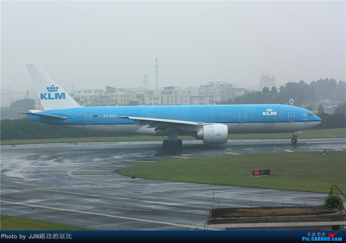 Re:[原创]5.1厦门溜一趟,捞了不少好东西,天气有够烂!(小飞机小飞机) BOEING 777-200 PH-BQE 中国厦门高崎国际机场