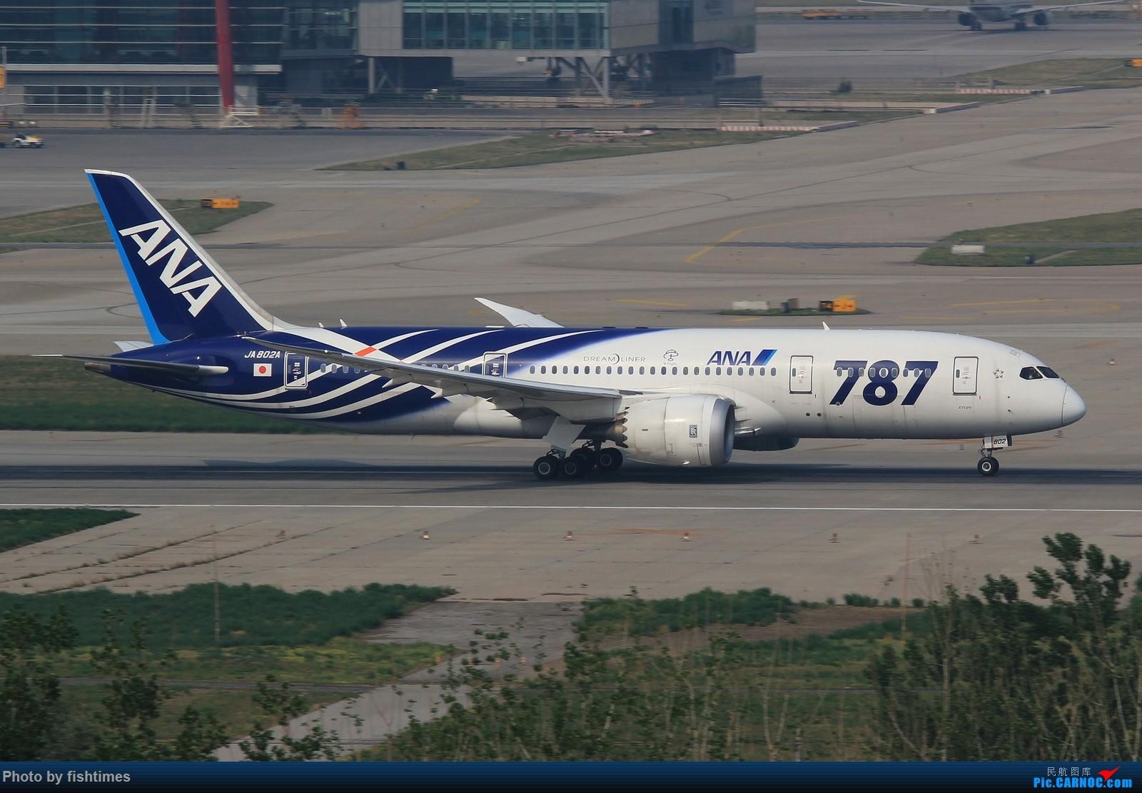 Re:[原创]【PEK】【***庆祝五一国际劳动节***】20150502_RWY01一组 BOEING 787-8 JA802A 中国北京首都国际机场
