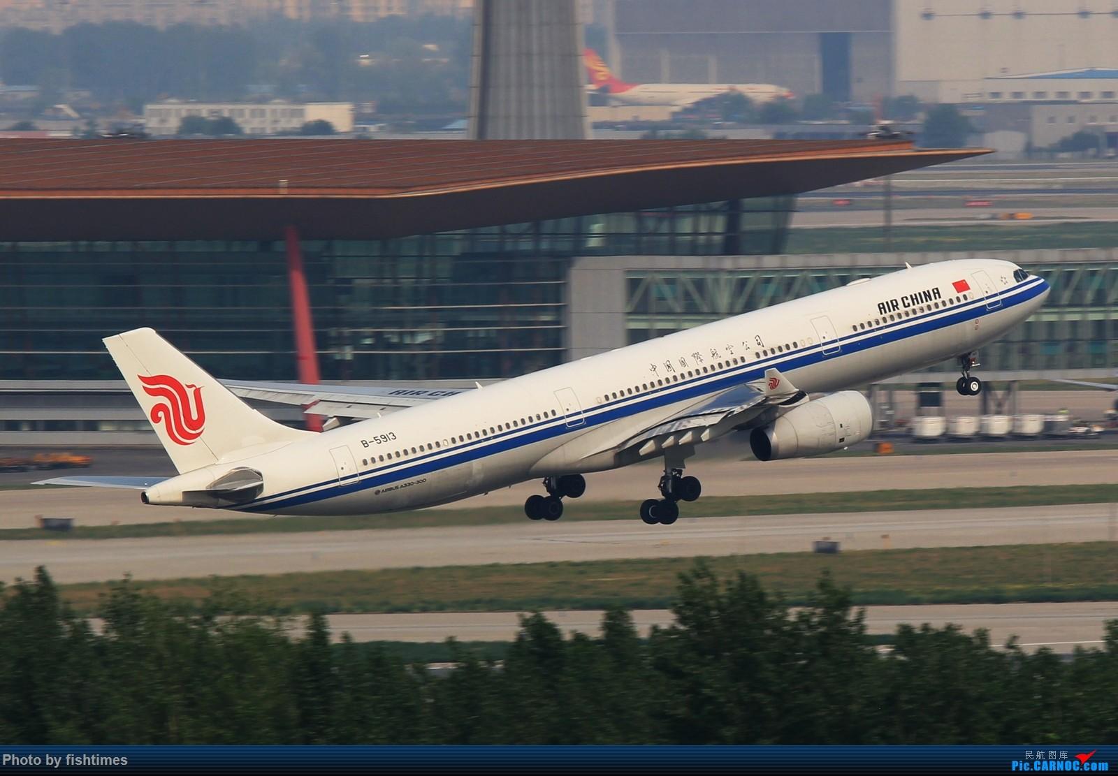Re:[原创]【PEK】【***庆祝五一国际劳动节***】20150502_RWY01一组 AIRBUS A330-300 B-5913 中国北京首都国际机场