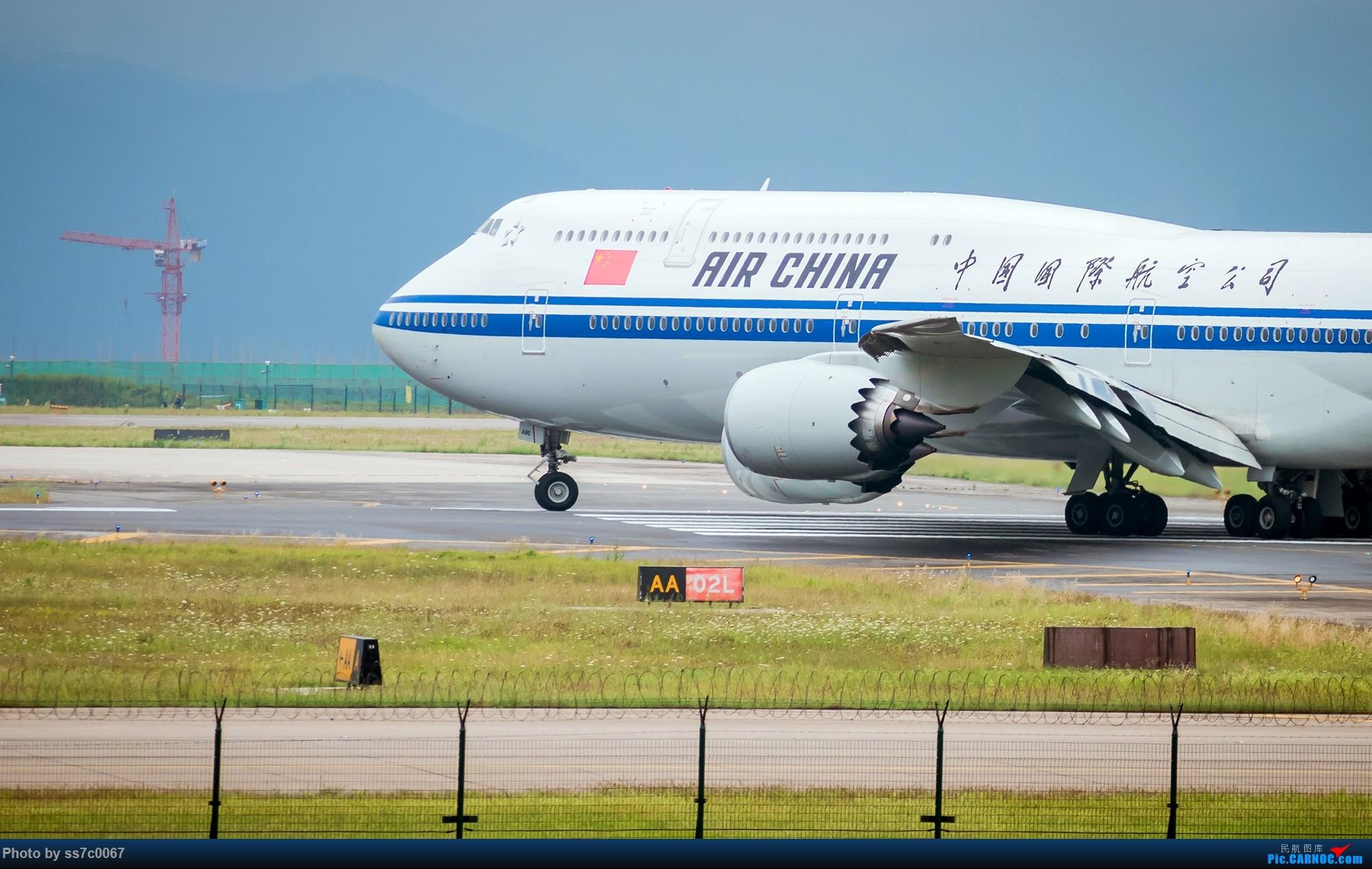 Re:[原创]CKG拍机(五一劳做在机场迎接国航747-8首航重庆,中货东航747也来助阵) BOEING 747-8I B-2486 中国重庆江北国际机场