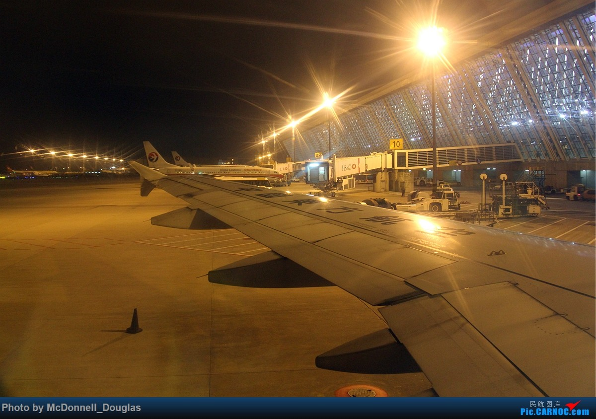 Re:[原创]【上海飞友会】和上次一样的目的,仍然为了航段,不过比上次有意思的多啦 ZSPD-ZSNJ byCES2882 小飞机有奖必回 AIRBUS A320-214 B-6757 中国上海浦东国际机场