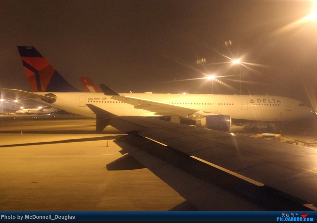 Re:[原创]【上海飞友会】和上次一样的目的,仍然为了航段,不过比上次有意思的多啦 ZSPD-ZSNJ byCES2882 小飞机有奖必回 AIRBUS A330-223 N857NW 中国上海浦东国际机场