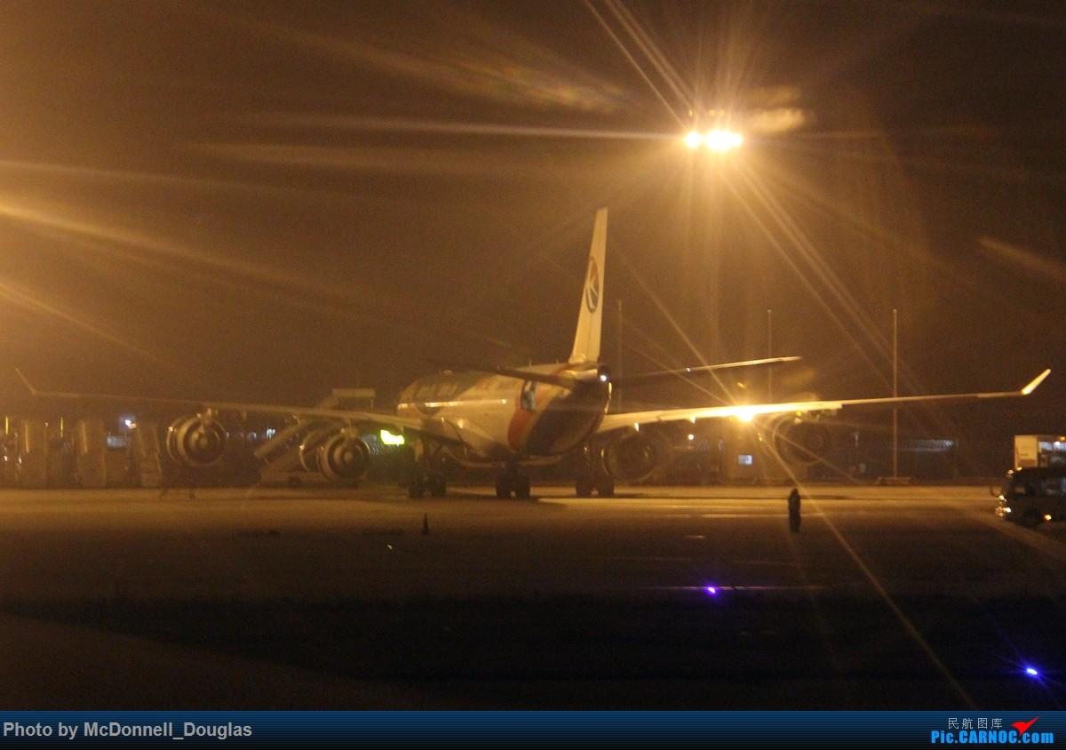 Re:[原创]【上海飞友会】和上次一样的目的,仍然为了航段,不过比上次有意思的多啦 ZSPD-ZSNJ byCES2882 小飞机有奖必回 AIRBUS A340-642 B-6055 中国上海浦东国际机场