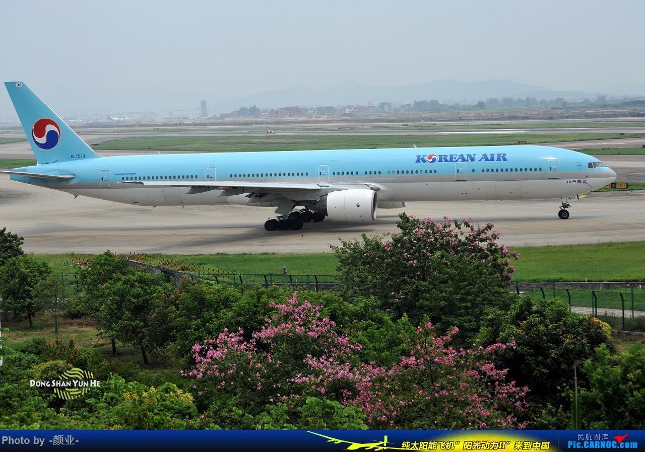 Re:[原创]ZGGG(广州CAN)的波音777系列-继续更新 BOEING 777-300ER HL-7573 中国广州白云国际机场