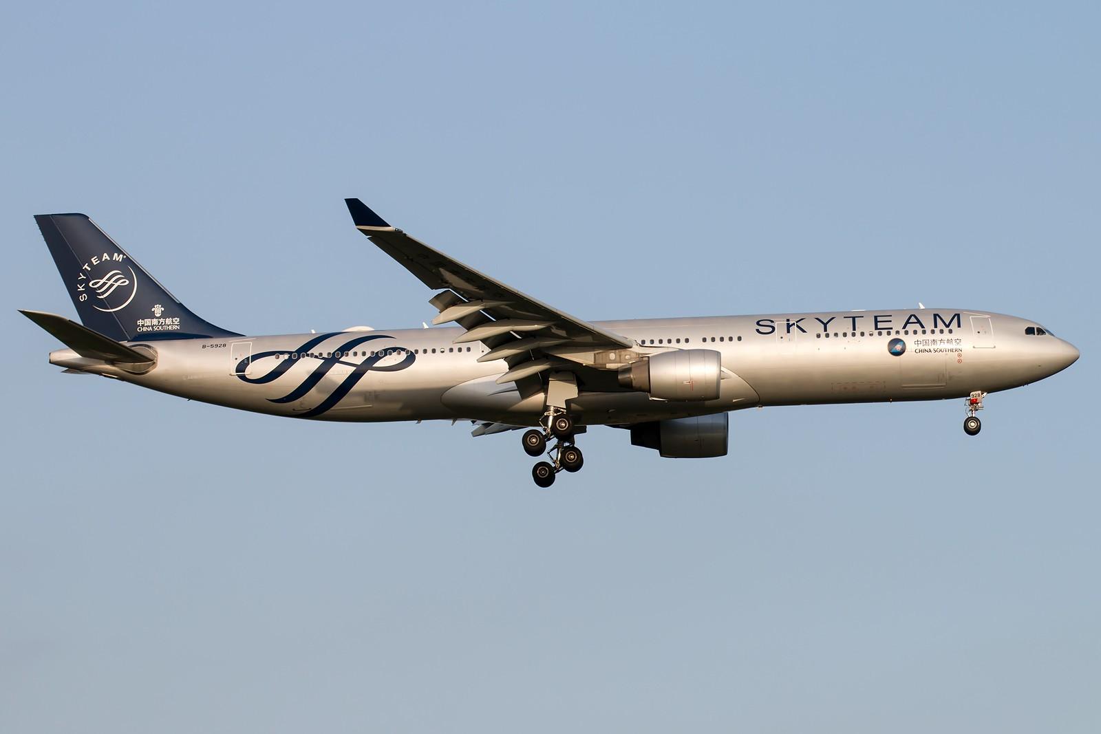 Re:[原创]晨练的季节到了 1600*1067 [8pics] AIRBUS A330-323 B-5928 中国北京首都国际机场