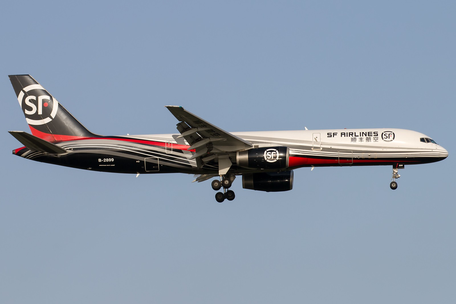Re:[原创]晨练的季节到了 1600*1067 [8pics] BOEING 757-21B(PCF) B-2899 中国北京首都国际机场