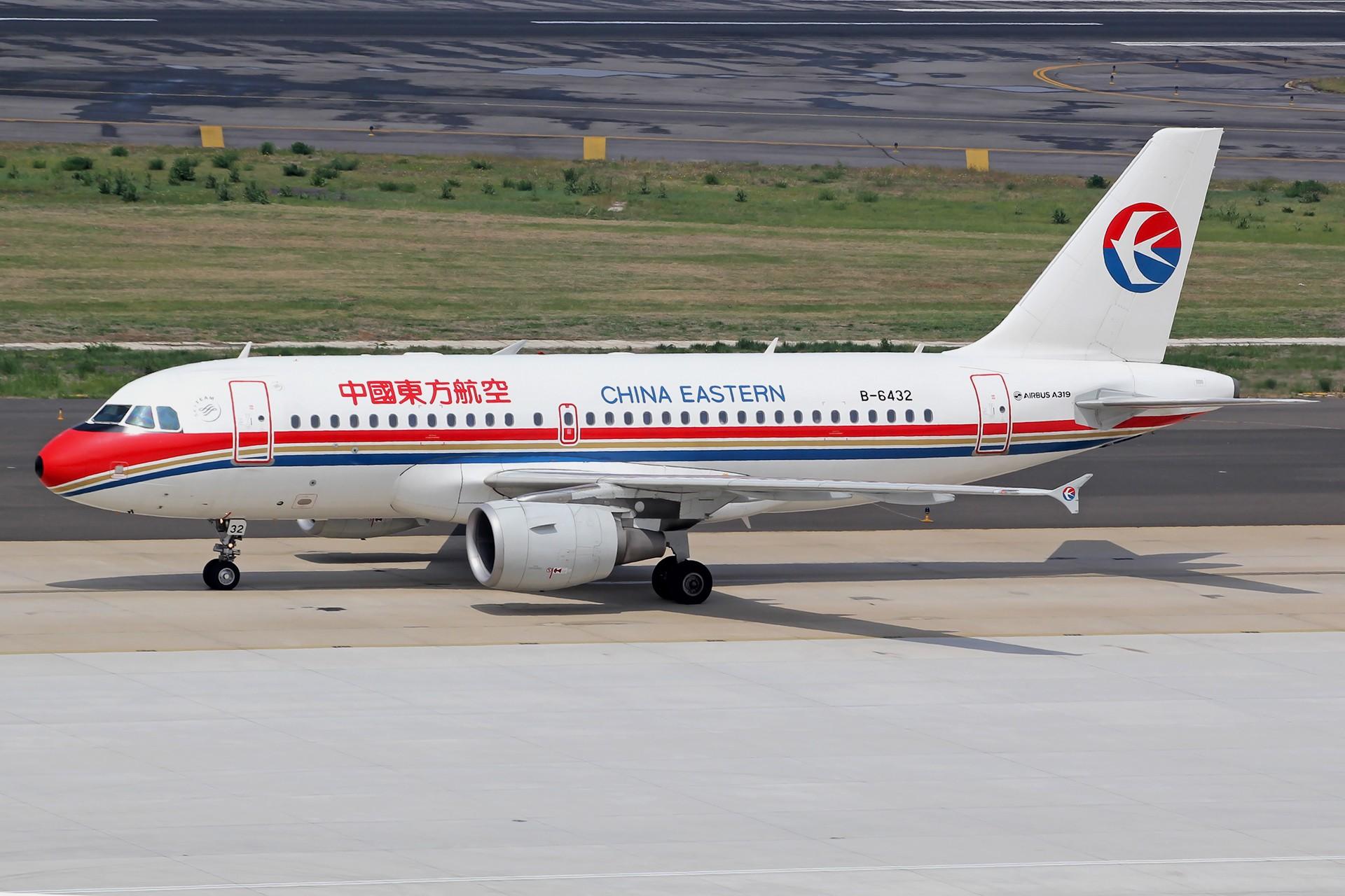 Re:[原创][DLC]雨过天晴,春意盎然…….. AIRBUS A319-100 B-6432 中国大连周水子国际机场