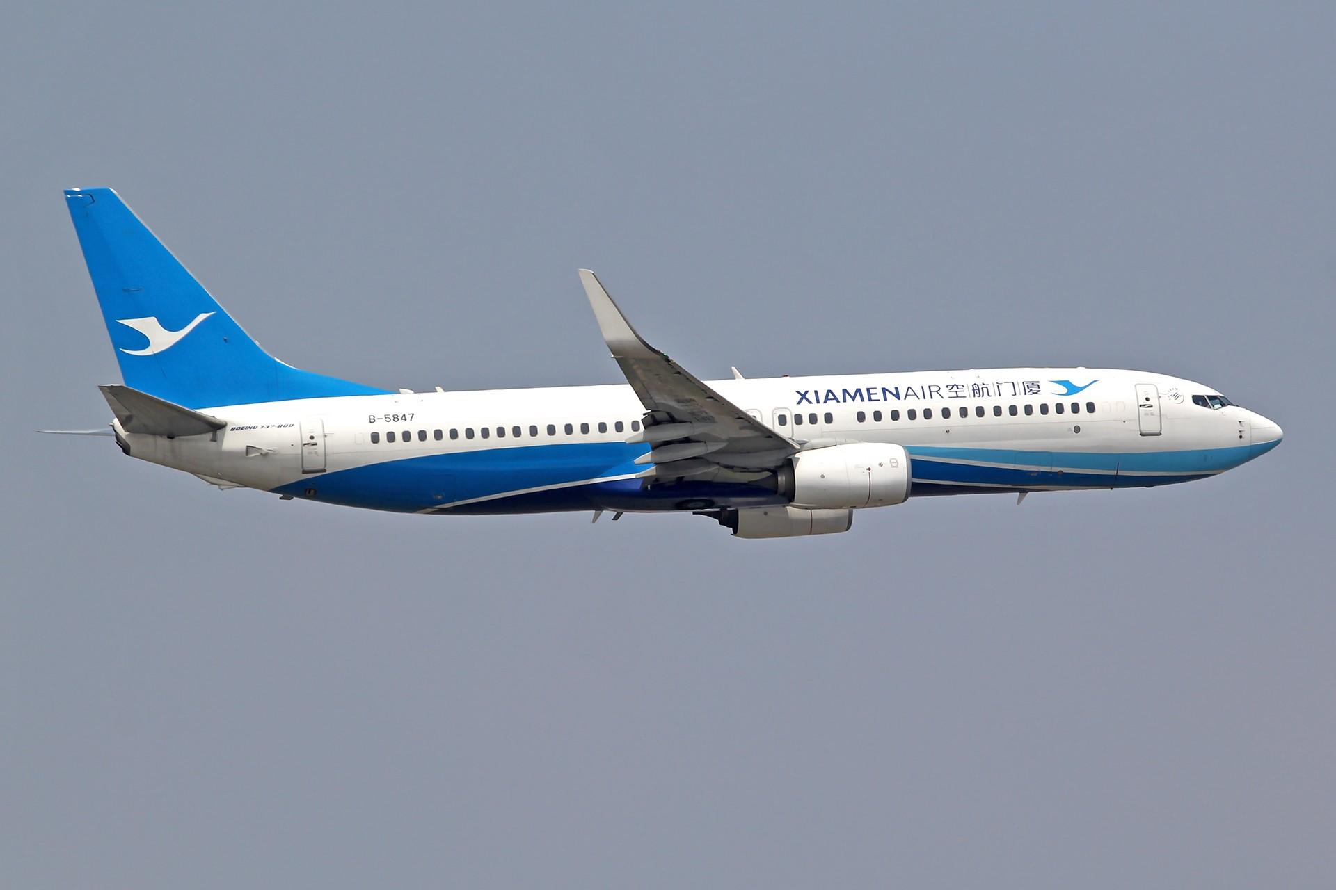 Re:[原创][DLC]雨过天晴,春意盎然…….. BOEING 737-800 B-5847 中国大连周水子国际机场