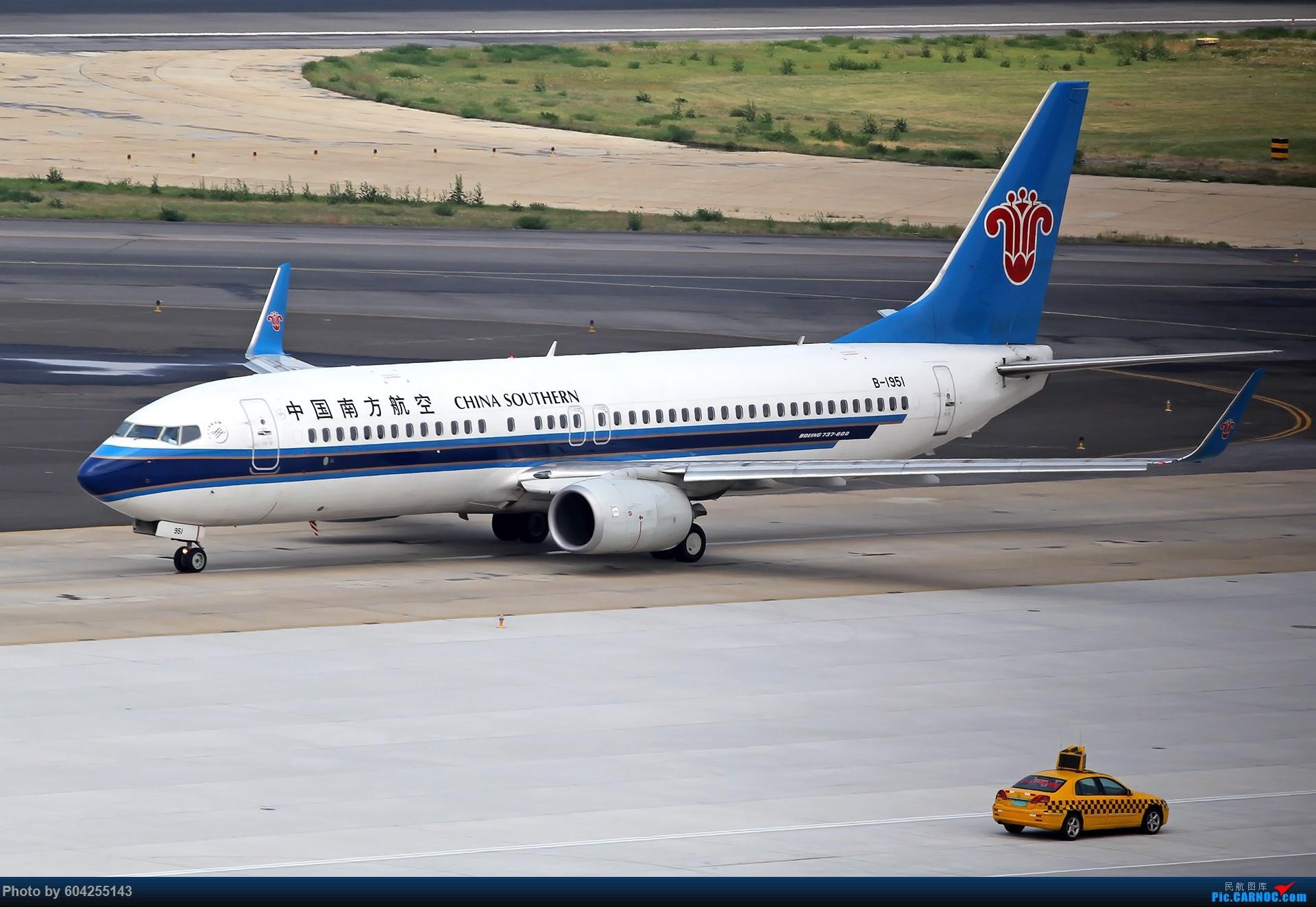 Re:[原创][DLC]雨过天晴,春意盎然…….. BOEING 737-800 B-1951 中国大连周水子国际机场