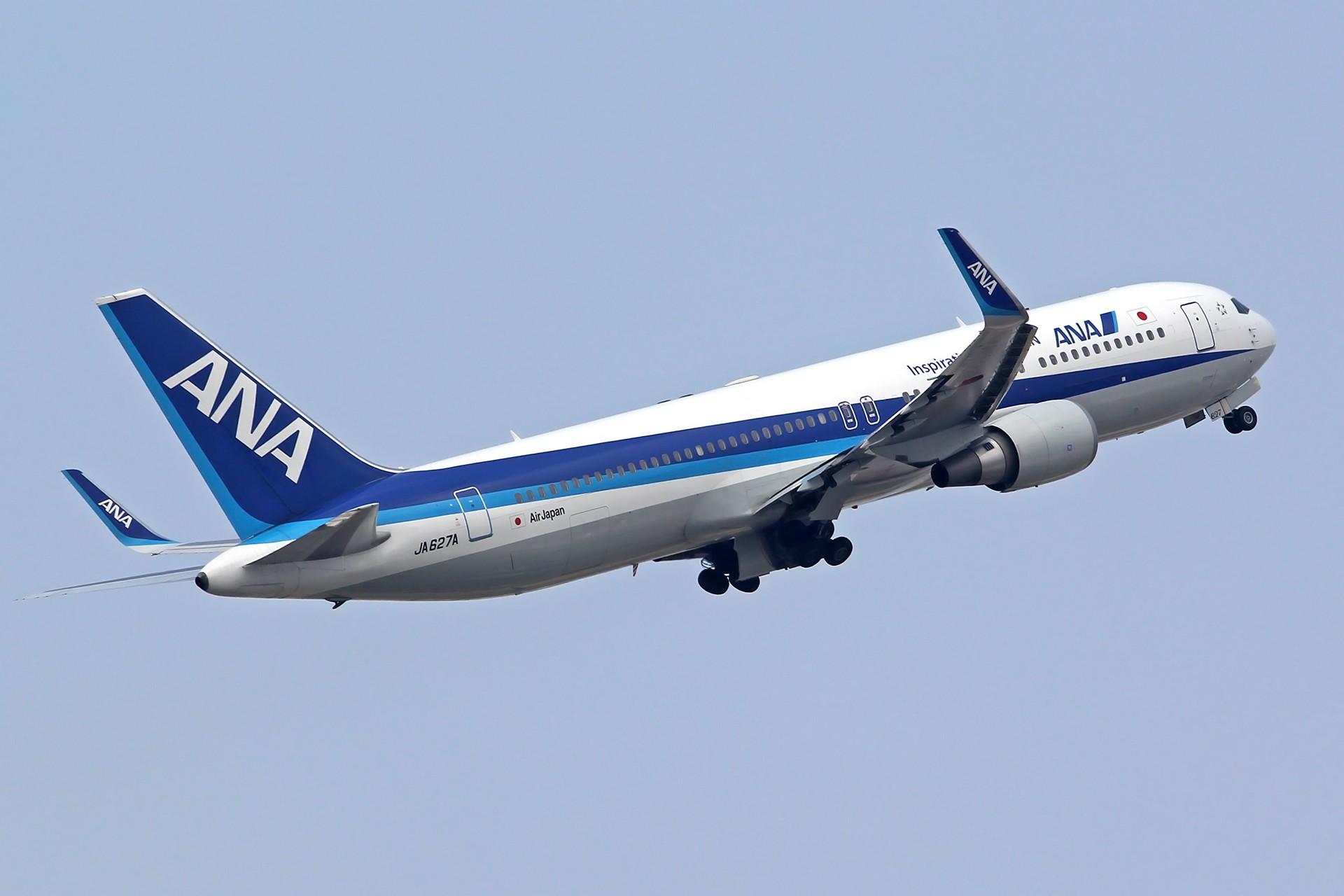 Re:[原创][DLC]雨过天晴,春意盎然…….. BOEING 767-300 JA627A 中国大连周水子国际机场