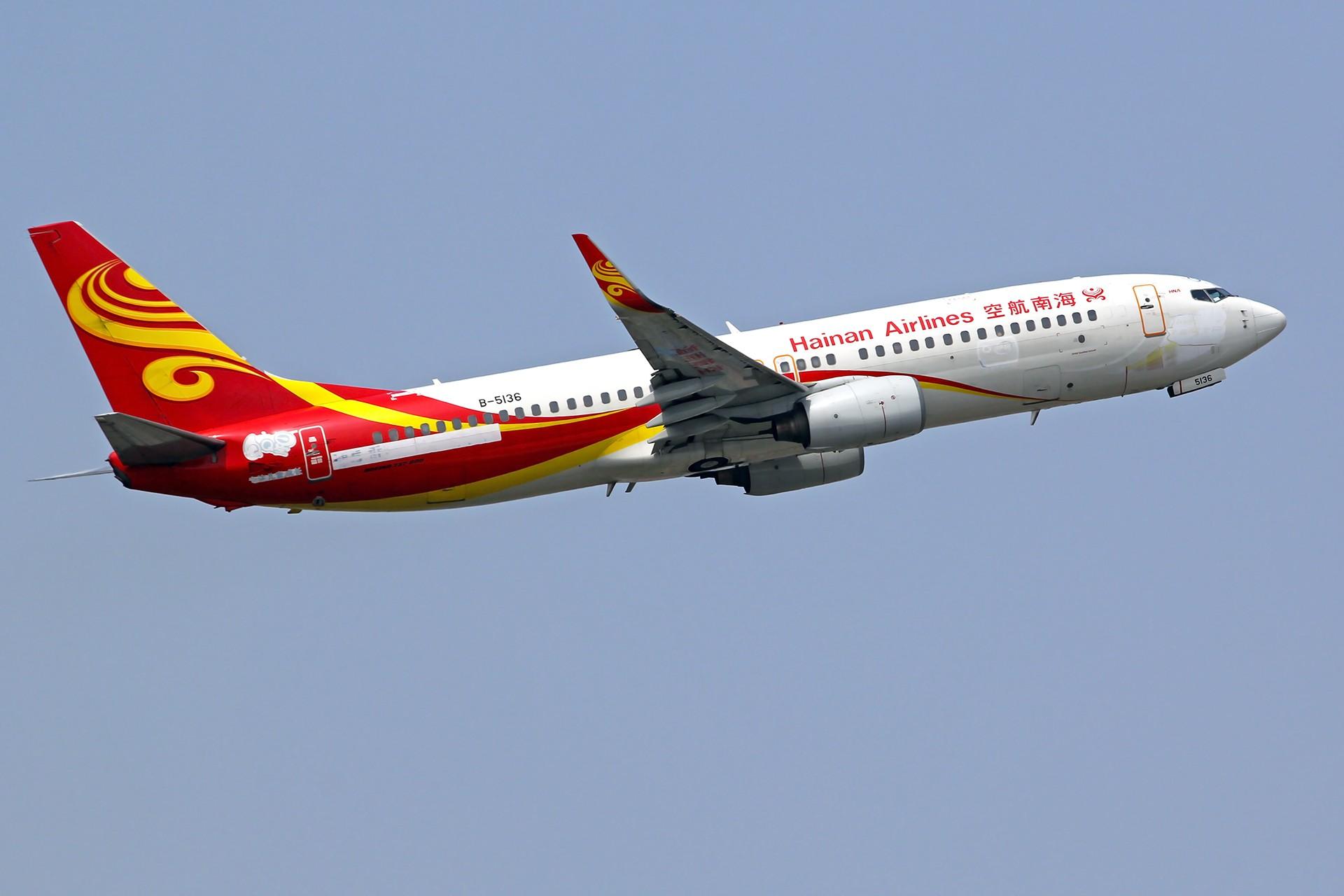 Re:[原创][DLC]雨过天晴,春意盎然…….. BOEING 737-800 B-5136 中国大连周水子国际机场