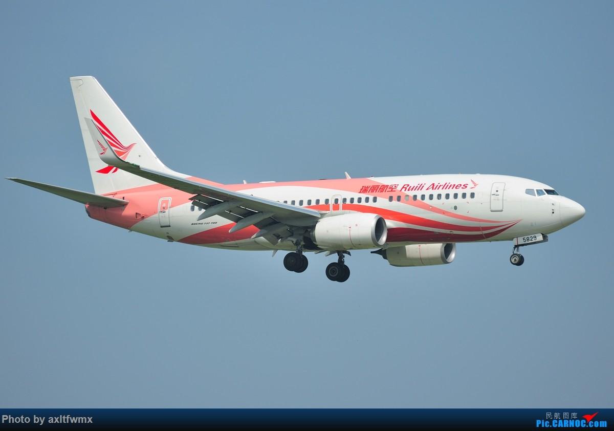 Re:[原创]找回那曾经的热情,时隔两年,再次拍机 BOEING 737-700 B-5829 中国武汉天河国际机场