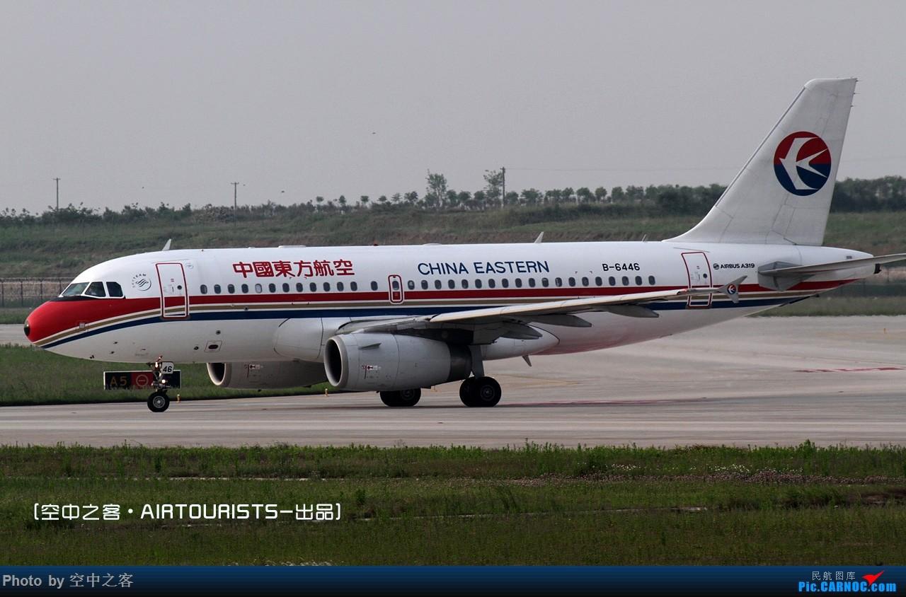 Re:[原创][空中之客]星期天去新桥-几只新东西-解决有无 AIRBUS A319-100 B-6446 合肥新桥国际机场