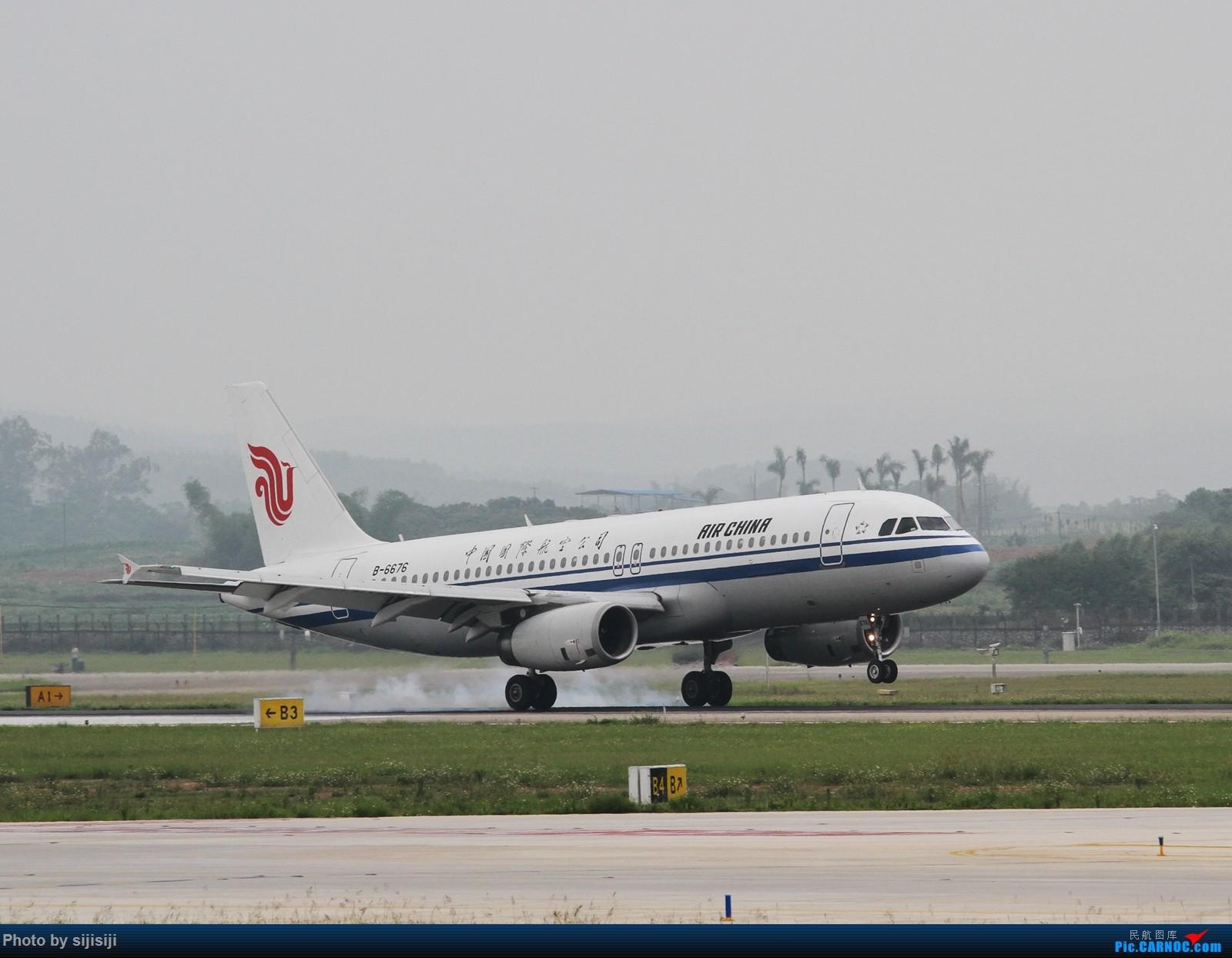 Re:[原创]【NNG飞友】屌丝村口迎来金凤凰,国航332飞抵NNG AIRBUS A320-200 B-6676 中国南宁吴圩国际机场